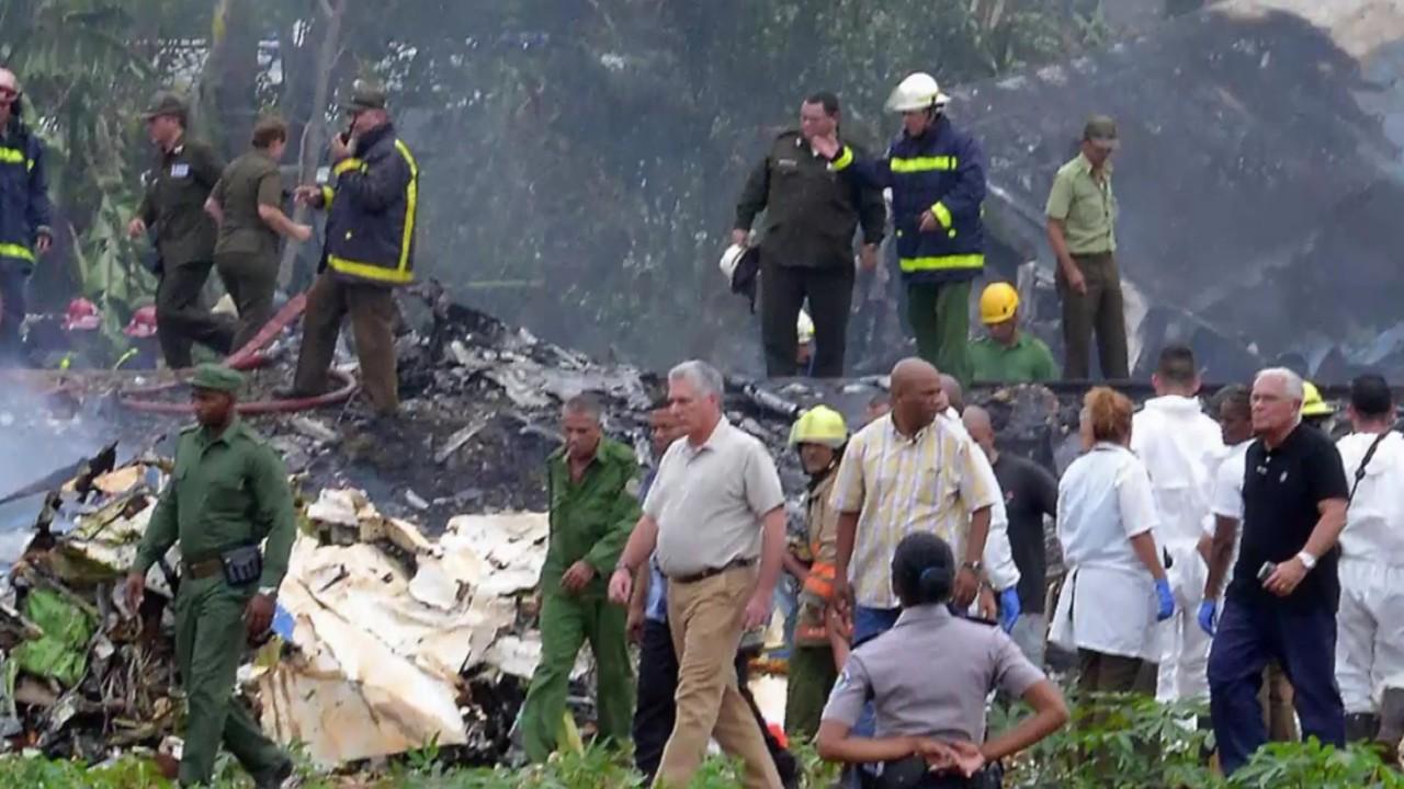 Víctimas de siniestro aéreo eran cubanos y 5 de la tripulación eran mexicanos