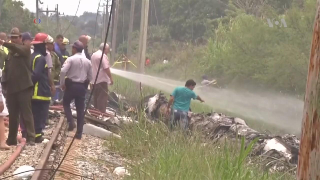 Aerolínea: avión accidentado en Cuba llevaba 104 pasajeros y 6 tripulantes