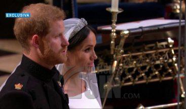 El príncipe Enrique y Meghan Markle se dan el