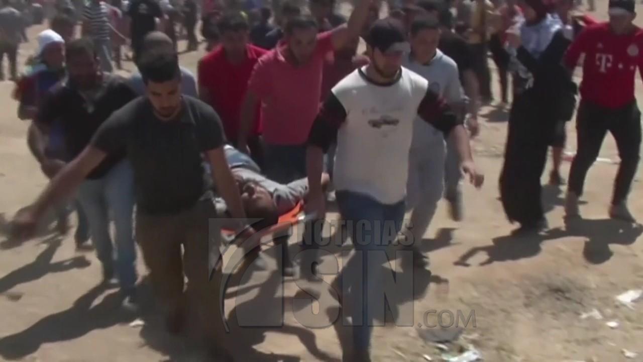 Al menos 58 palestinos muertos en protestas por traslado Embajada EEUU