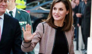 La primera dama de Haití da la bienvenida al país a la reina Letizia