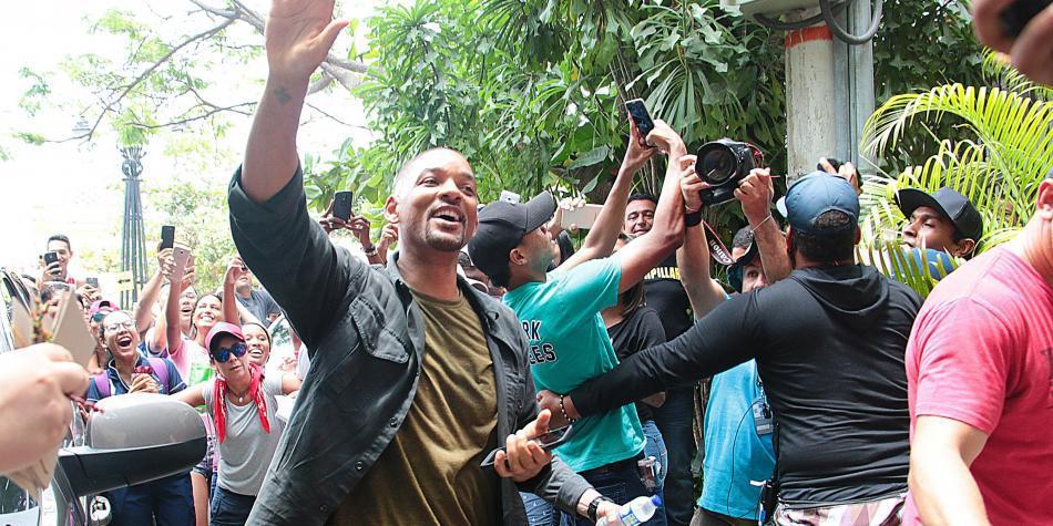 Will Smith deja Cartagena después de un mes de cine, reguetón y champeta