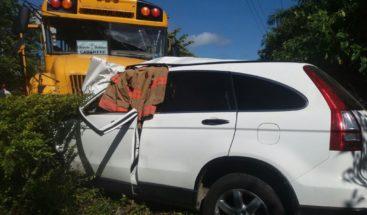 Accidente de tránsito deja dos muertos y varios heridos en carretera Sosua-Cabarete