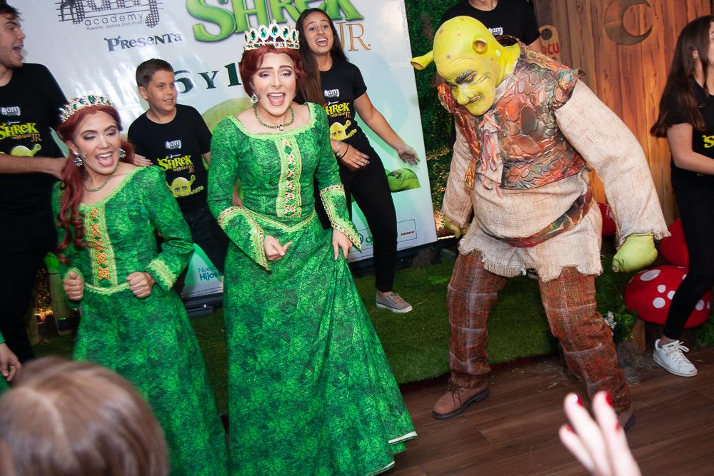 Musical Shrek una divertida producción para toda la familia