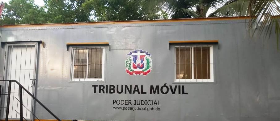 Tribunales Móviles comienzan a trabajar desde este lunes