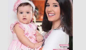 Jessica Hasbun protagonista de la portada de la revista Magazine del Nuevo Diario