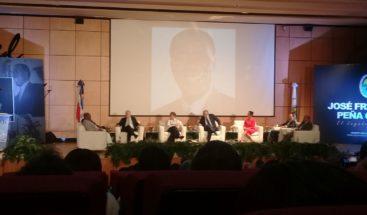 PRD organiza conversatorio sobre vida y obra de José Francisco Peña Gómez