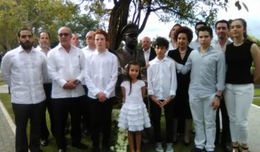 Develan busto del general Antonio Imbert Barrera