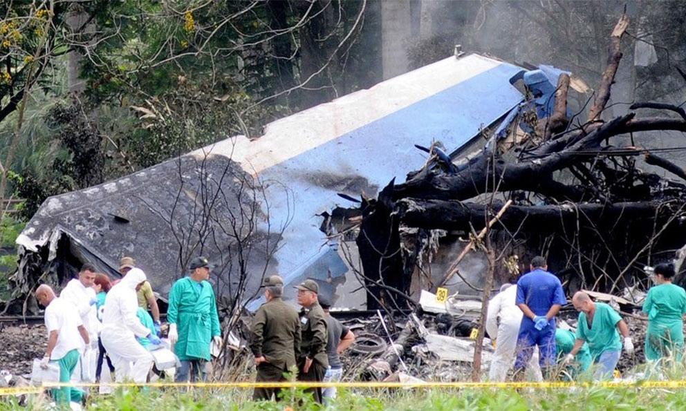 Identifican a 74 víctimas del accidente de aviación en La Habana