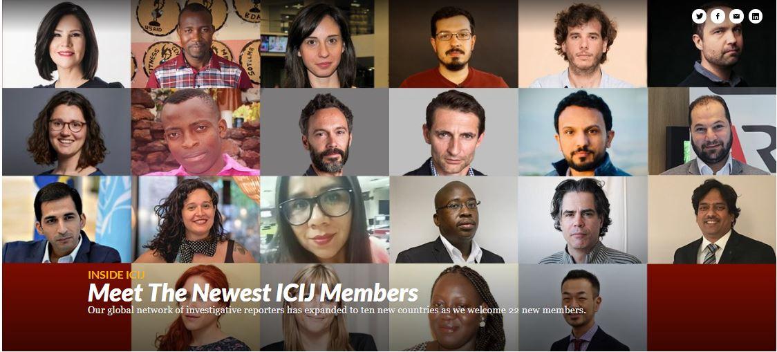 Alicia Ortega es seleccionada para formar parte delConsorcio Internacional de Periodistas de Investigación