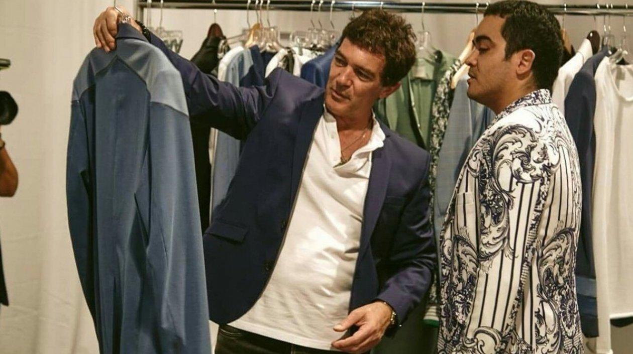 La firma Roberto Cavalli se une a Antonio Banderas en la Miami Fashion Week