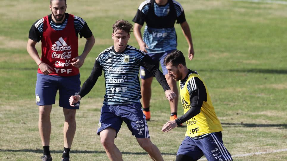 La selección argentina se despide de su público ante Haití