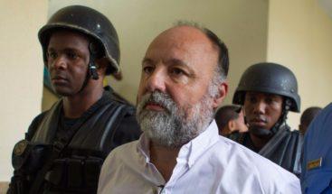 Christophe Naudin, condenado en RD por fuga de pilotos sale de prisión en Francia