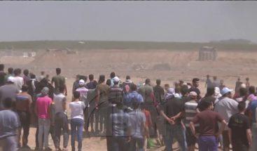 Al menos 41 Palestinos muertos y más de mil heridos en las protestas en Gaza