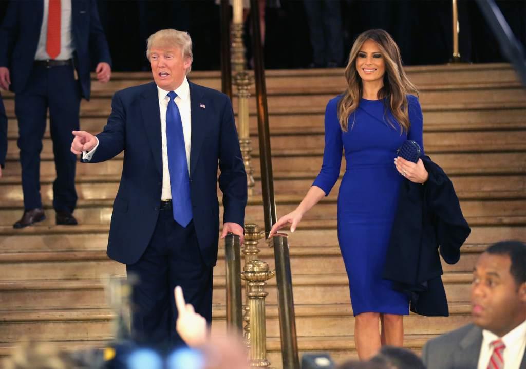 Trump dice que su esposa abandonará el hospital en