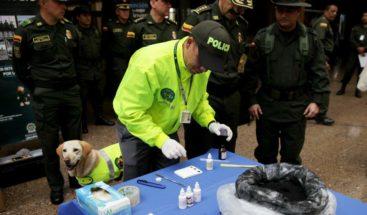 La Policía colombiana detiene a ciudadano dominicano con un kilo de cocaína