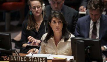 EE.UU. pide reunión del Consejo de Seguridad por ataques a Israel desde Gaza