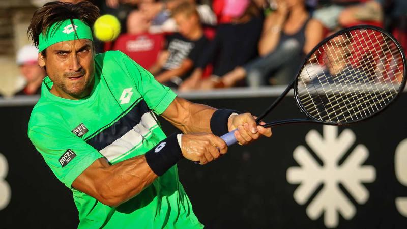 David Ferrer cae ante Sock y se queda fuera en la primera ronda