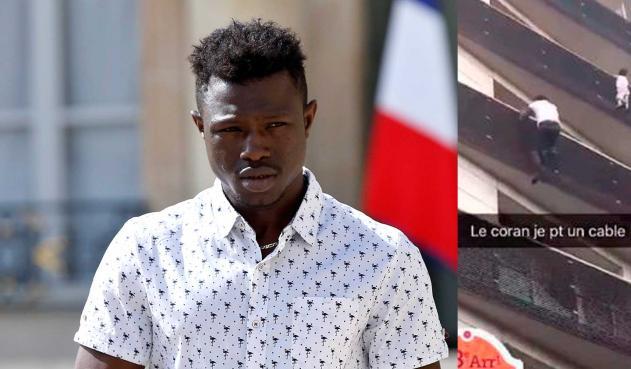 Regularizan situación en Francia del joven malí que salvó a niño en París