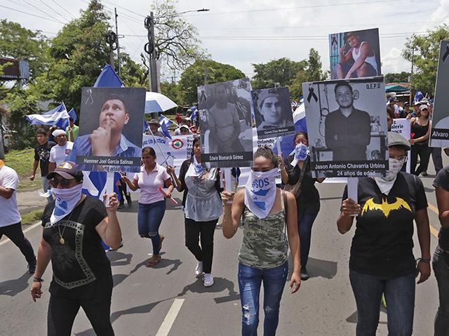 Ascienden a 61 las muertes por las protestas contra el Gobierno en Nicaragua
