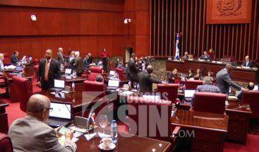Senado crea nueva comisión bicameral para analizar proyecto de ley partidos