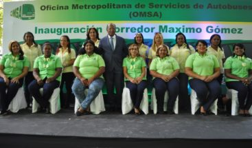 OMSA reapertura Corredor Máximo Gómez;será operado 100 por ciento por Mujeres