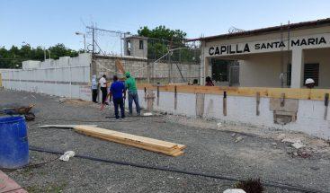 PGR informa avanzan trabajos de levantamiento del muro del CCR SPM
