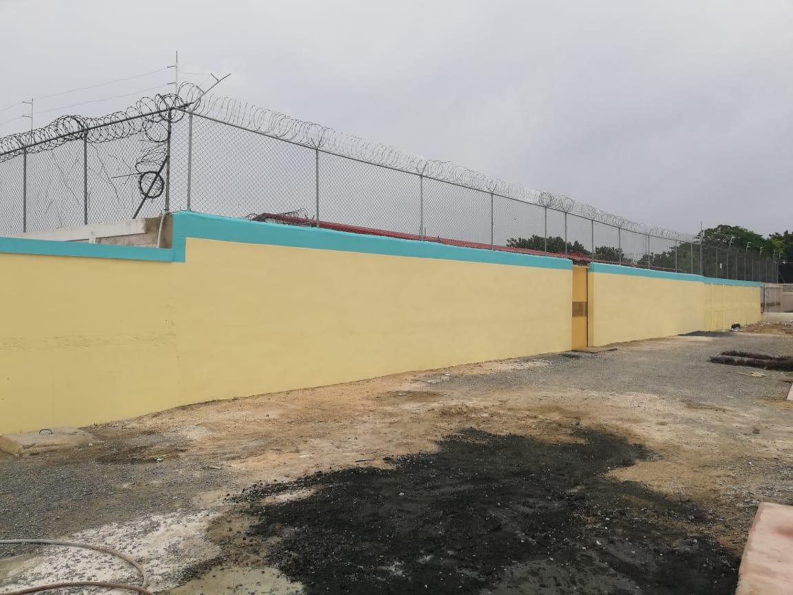 PGR termina levantamiento muro del centro de corrección de San Pedro de Macorís