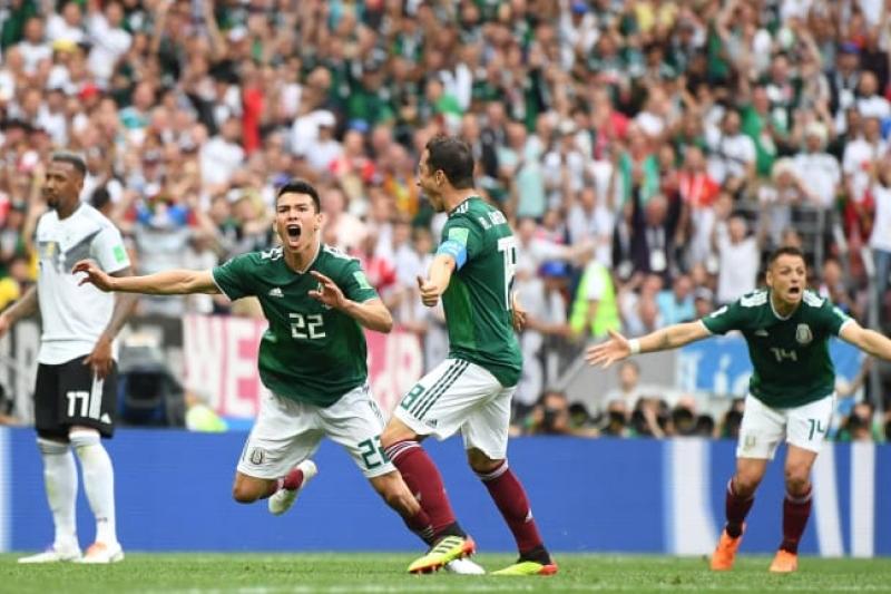 México hace historia y tumba a la campeona Alemania