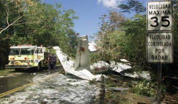 Avioneta se accidenta en el norte de Puerto Rico y deja dos personas heridas