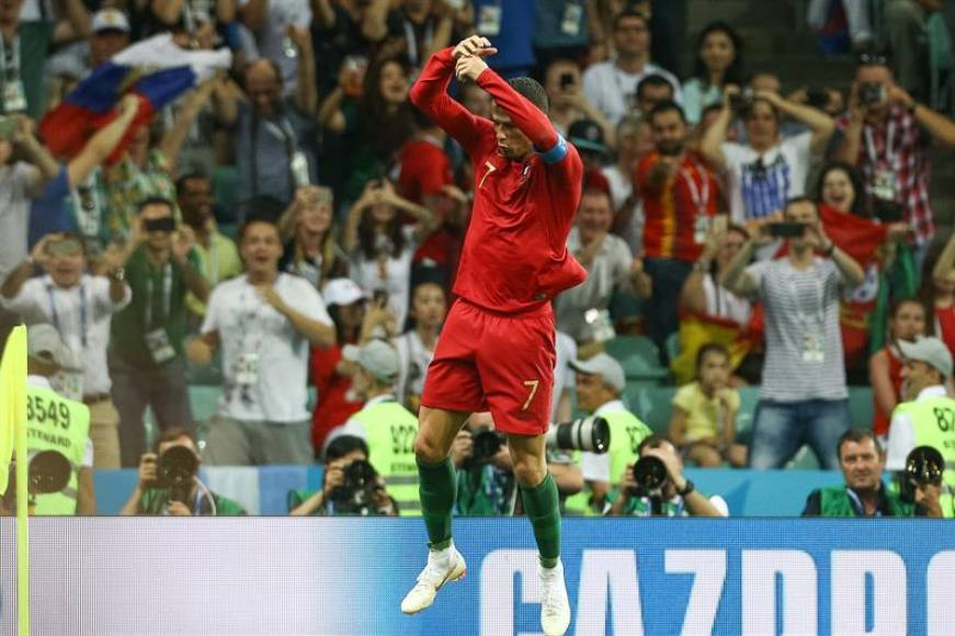 Cristiano Ronaldo, elegido el hombre del partido con tres goles