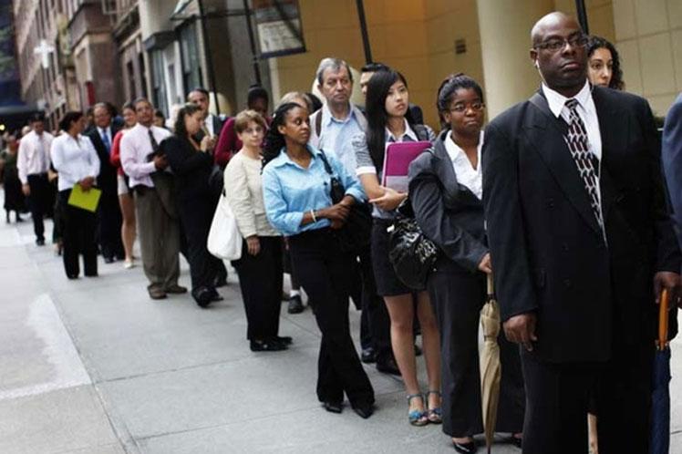 Aumentan las solicitudes de subsidio por desempleo en EE.UU.