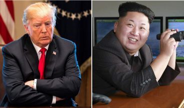 Donald Trump parte rumbo a Singapur para reunirse con Kim Jong-un