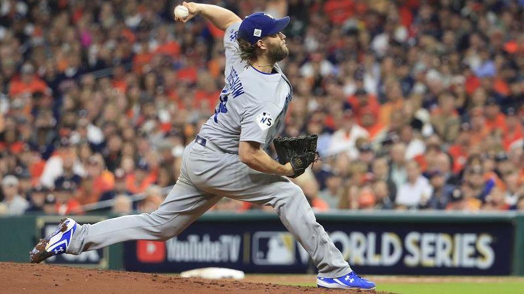 Dodgers ponen a su estelar Kershaw en la lista de lesionados