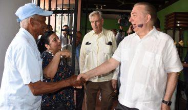 Ministro de Cultura realiza recorrido por edificaciones históricas de la Ciudad Colonial