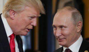 Putin alaba a Trump y confirma que quiere una cumbre con el líder de EEUU