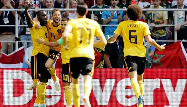 Bélgica golea a Túnez (5-2) en Moscú