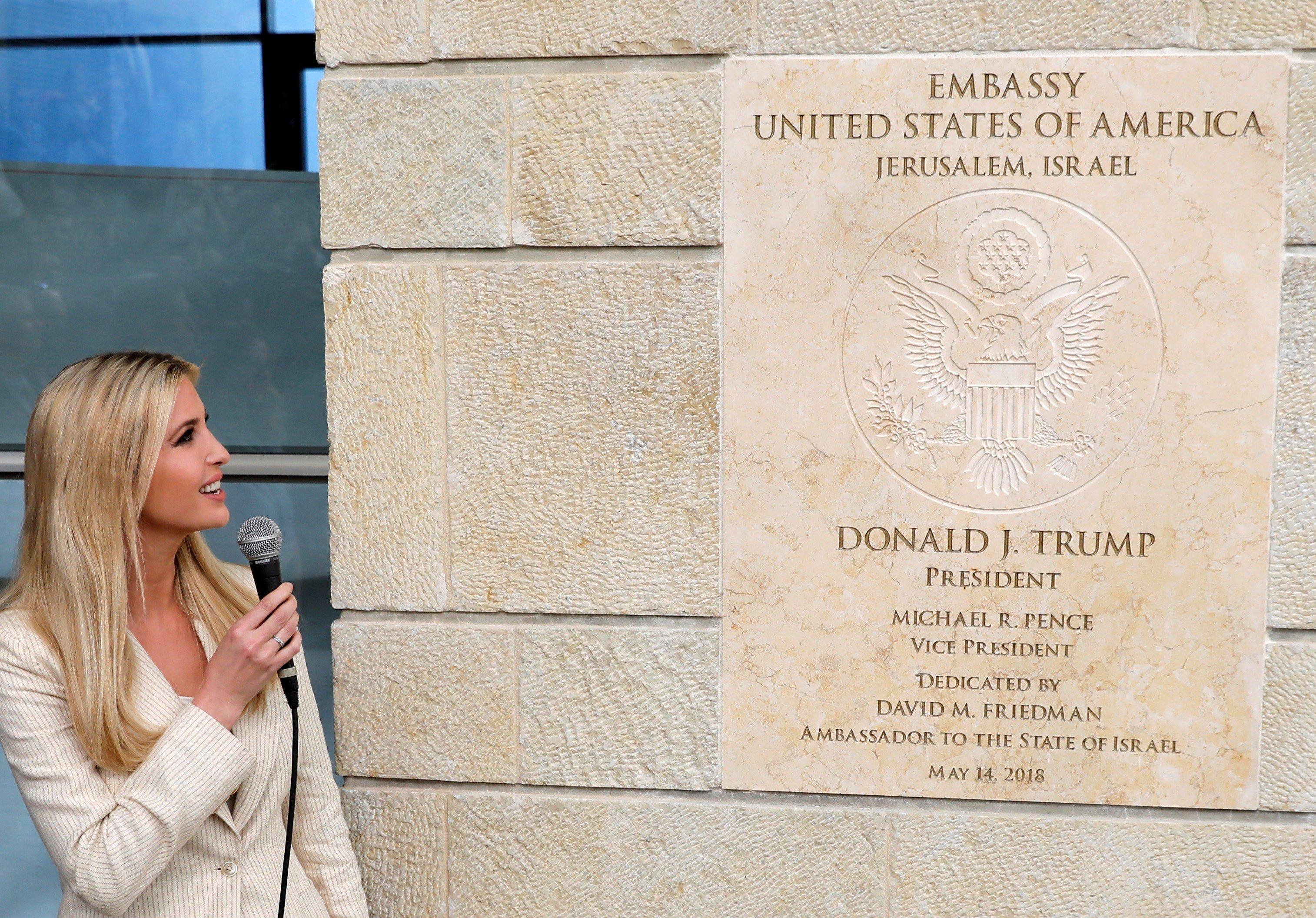 EEUU no sabe aún cuando finalizará el traspaso de su Embajada a Jerusalén