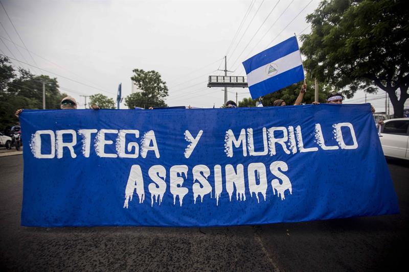 ONG cifra en 130 los muertos en Nicaragua por la crisis y culpa a oficialismo