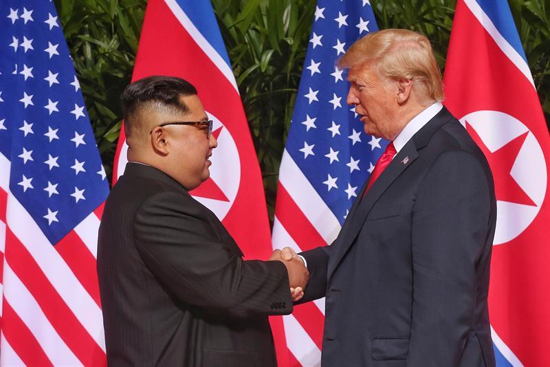Trump inicia su segunda reunión con Kim y dice que todo va