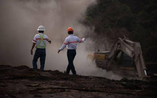 El Volcán de Fuego de Guatemala registra nuevos descensos de lahares