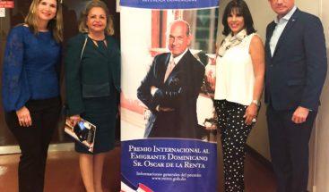 Delegación RD ante la UNESCO presenta Premio Sr. Oscar de la Renta