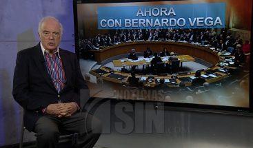 """Bernardo Vega: """"Es el peor momento para RD estar en Consejo de Seguridad de Naciones Unidas"""""""
