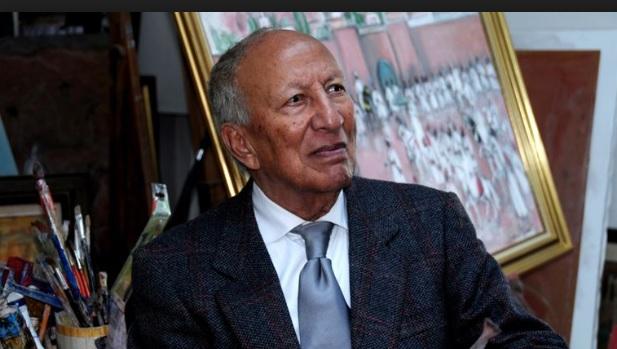Muere a los 94 años Hasan El Glaoui, un histórico de la pintura marroquí