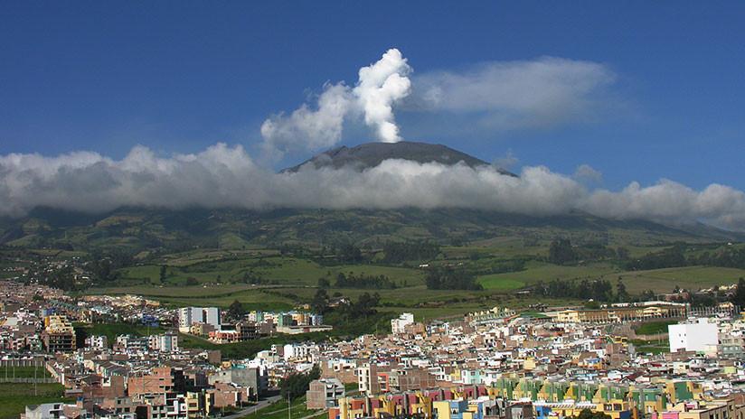Se registra un sismo en Colombia con epicentro en el volcán Galeras