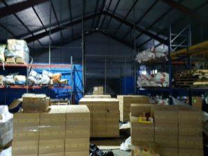 Aduanas halla en AILA 2 MM de unidades de cigarrillos de contrabando