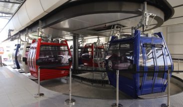 Teleférico de Santo Domingo entrará en operaciones comerciales este domingo