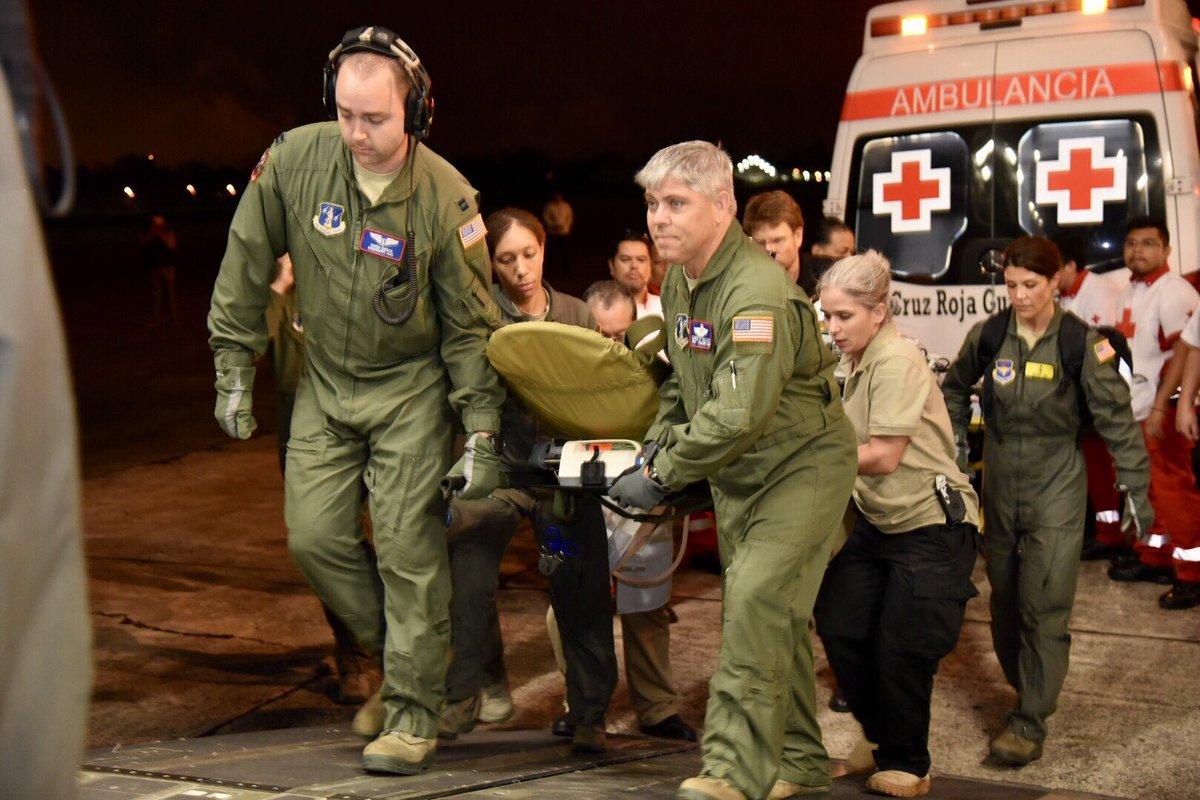 Trasladan a EE.UU. a seis niños guatemaltecos heridos por el volcán de Fuego