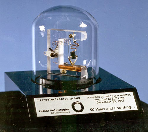 """Un día como hoy en 1948 Bell Labs presenta """"El transistor"""""""
