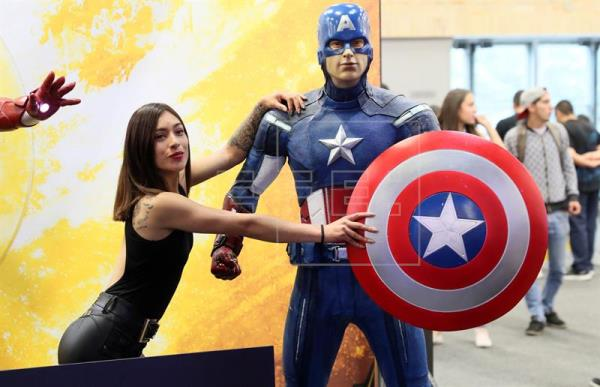 Series de TV se unen a los superhéroes en el centro de la Comic Con Colombia